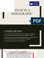 What is a paragraph (2)