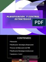 CAPITULO VI PLANIFICACION Y CONTROL ESTRATEGICO