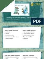 Patologías estructurales y edificatorias