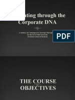 Navigating through the Corporate DNA