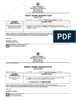 PPG- WEEKLY HOME LEARNING PLAN- Month of October FINAL