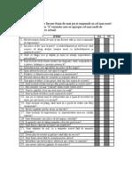 Testul Friedman pt evaluarea nivelului de maturitate emotionala