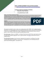 6. Shriner's Upper Extremity Assessment