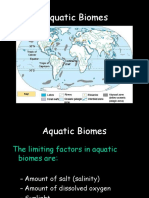 aquatic biomes marine and fresh .ppt