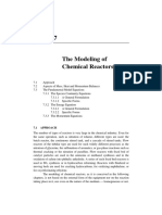 The Modeling of Chemical Reactors Chapter 7