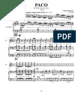 9 Hermosa - Paco dúo ac&violin with parts