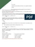 LISTA DE EXERCÍCIOS RESOLVIDOS MATERIAIS DE CONSTRUÇÃO parte 1