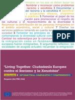 Living Together - Ciudadanía europea contra el racismo y la xenofobia
