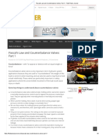 Pascal's Law and Counterbalance Valves_ Part 1 - Fluid Power Journal