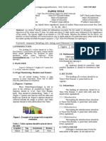 Paper Template for UJSER,2020 Vol-2