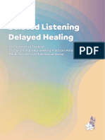 Belated Listening, Delayed Healing – An Exploratory Study of Disclosure and Help-Seeking Practices Among Adult Survivors of Child Sexual Abuse