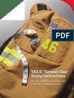 FR en Morning Pride Tails - Sizing Instructions