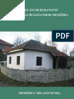 Monografija Bugojanskih Mesdzida - Milanovici Kotezi i Pirici