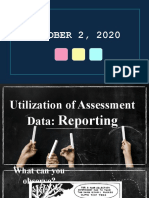 Utilization of Assessment Data_ Reporting.pptx