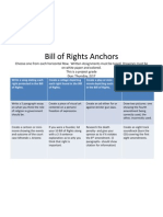 Bill of Rights Anchors