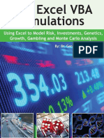 100 Excel VBA Simulations Using Excel VBA to Model Risk, Investments, Genetics, Growth, Gambling, and Monte Carlo Analy by Dr. Gerard M. Verschuuren.pdf