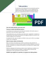 TABLA PERIÓDICA Y PROPIEDADES PERIÓDICAS 1 - Maximiliano Vázquez