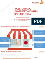 Dine-In Requirements Slides - 26 April 2020
