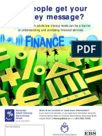 Finance Literacy Poster
