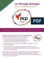 New Communities Partnership postcard