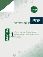 Módulo 1 - Contexto da Governança de Dados na Administração Pública