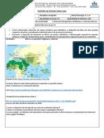 Geografia - 3ªs Séries