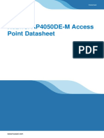 Huawei AP4050DE-M Access Point Datasheet