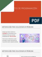 FUNDAMENTOS DE PROGRAMACIÓN-I