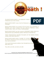 Force Of Nature -- History -- Terror NEVER Ends -- 2011 01 31 -- Black Death -- End of Industry -- Heads Up Ass -- MODIFIED -- pdf -- 300 dpi