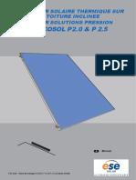 Notice Ecosol p2.0 p2.5 Toit Incline (Système Pression)