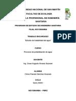 ESTUDIOS DE TRATABILIDAD