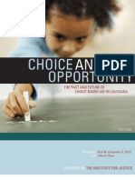 Choice and Opportunity