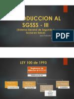 INTRODUCCION AL SGSSS III
