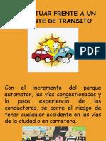 Accidentes de transito Como Actuar