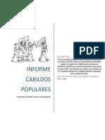 INFORME CABILDOS POPULARES