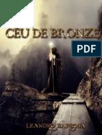Céu de Bronze - amostra Livro