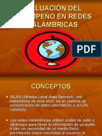 EVALUACIÓN DEL DESEMPEÑO EN REDES INALÁMBRICAS