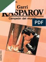180-Garri Kasparov - Campeon del mundo, 1986-OCR, 200p