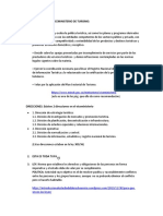 FUNCIONES DEL VICEMINISTERIO DE TURISMO
