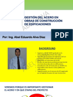 Presentación UNFV- Gestión del Acero - Abel Alva.pdf