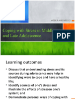 WEEK 4 AND 5Coping with Stress in Middle and Late Adolescence.pptx