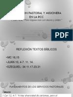 SANTA MARTA DIMENSIÓN PASTORAL y MISIONERA EN LA RCC
