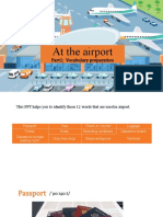 At the airport (Part1-1 Vocabulary preparation) (1)