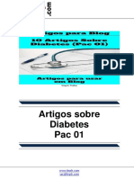 Artigos Sobre Diabetes – Pac 01