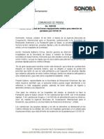 18-10-20 Recibe sector salud de Sonora equipamiento médico para atención de pandemia por COVID-19