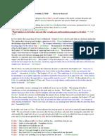 English Translation of Khutba 20101217