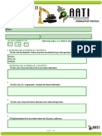 EVALUACION - TALLER  EXCAVADORA HIDRAHULICA Recuperacion OK