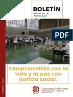 Edición No. 16 - Agosto 2020