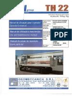 Manual TH 22 português