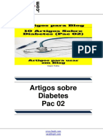 Artigos Sobre Diabetes – Pac 02